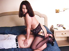 Crazy wife punishes hubby for not fucking her like a man.video